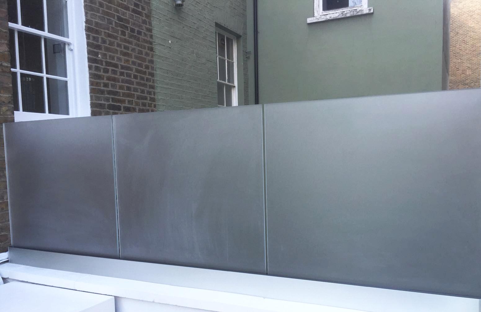 External Glass Balustrade - SW5 - London - Brompton Glass 3.JPG