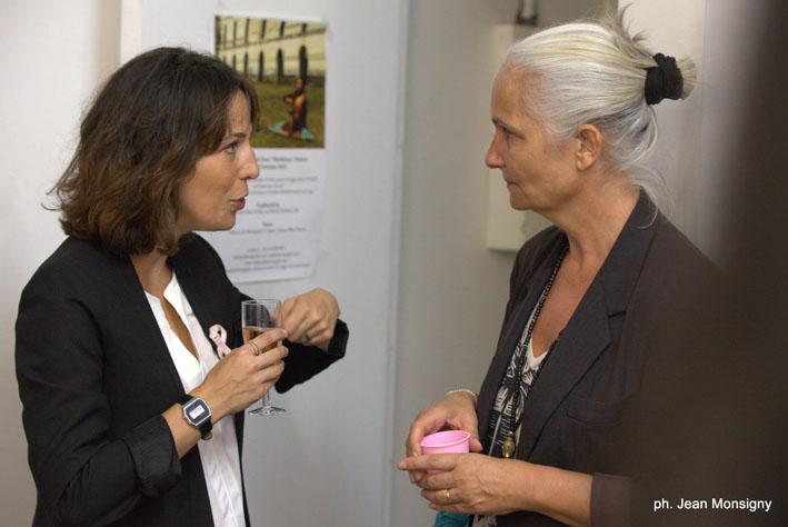 Agnès de l'Institut Curie, a tout de suite accepté d'être notre partenaire
