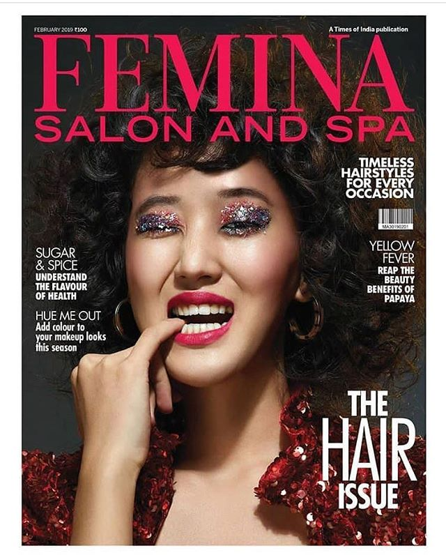 Hello Sunshine! #redbypurvapardeshi for @feminaindia magazine cover. * * * #sunshine #red #redbypurvapardeshi #sequins #boldandbeautiful #bling #happy #hapiness #querky #fashion #fancy #sexyandiknowit
