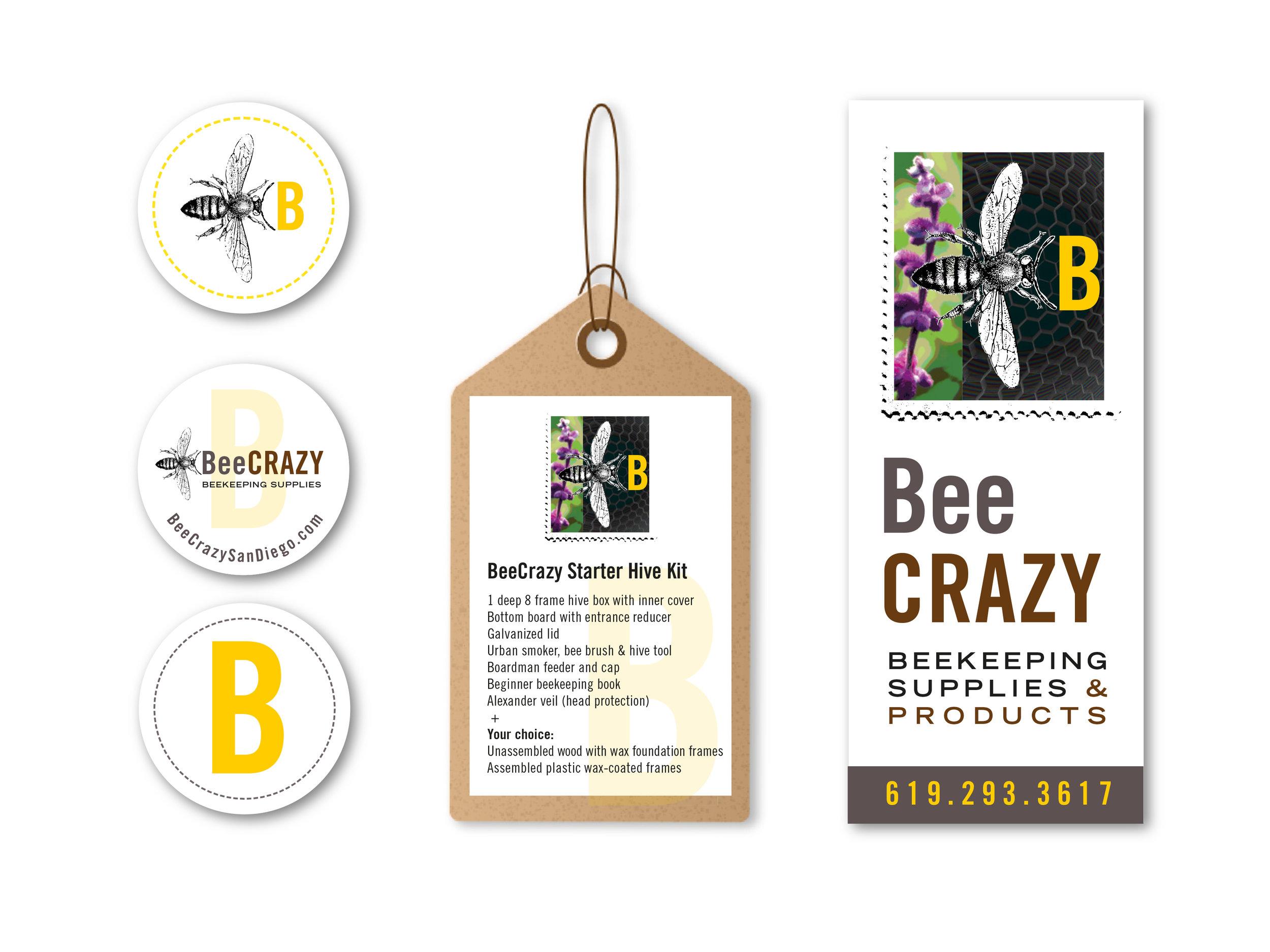 BeeCrazy-stickers&tag.jpg