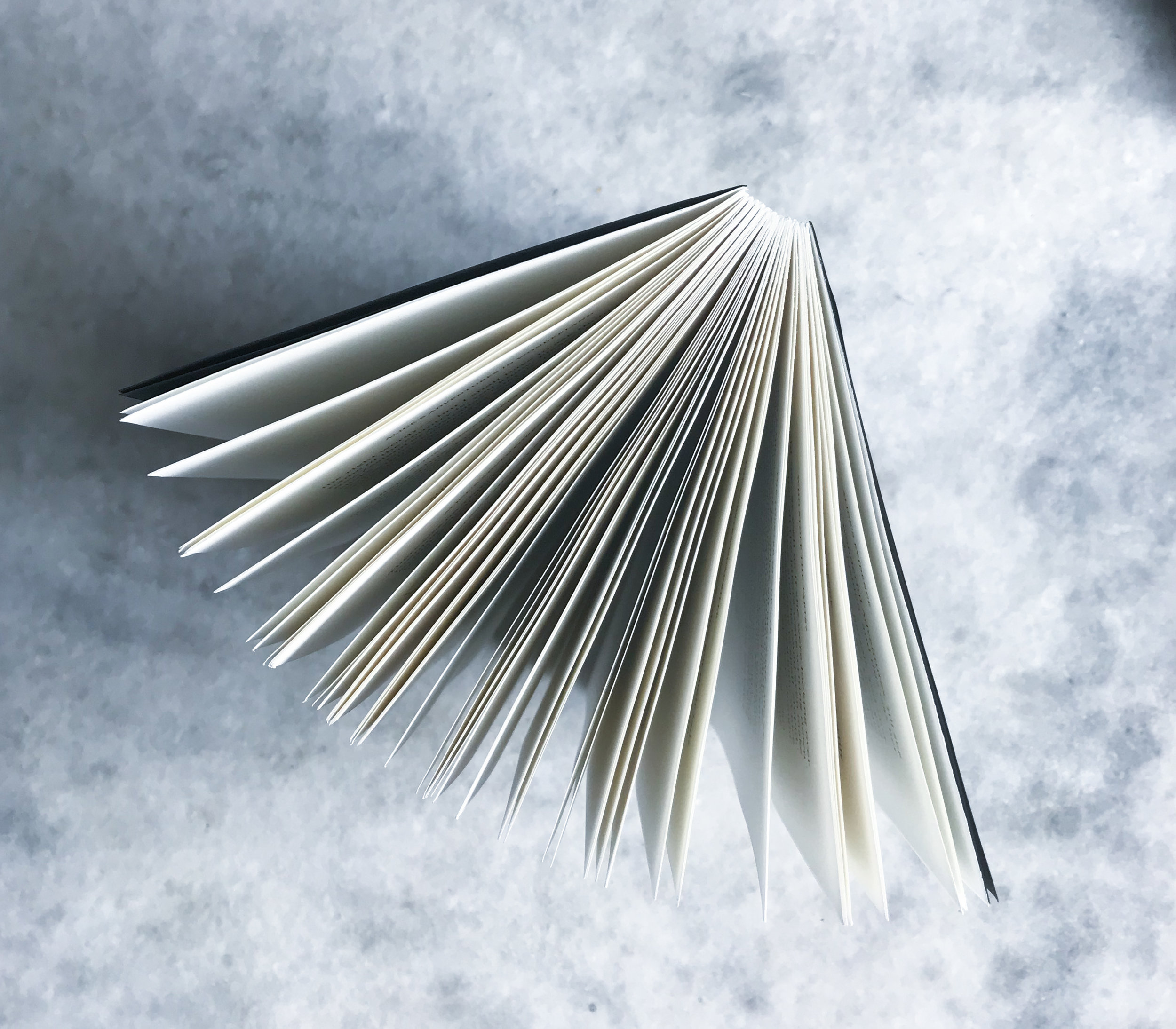 Fanned pages