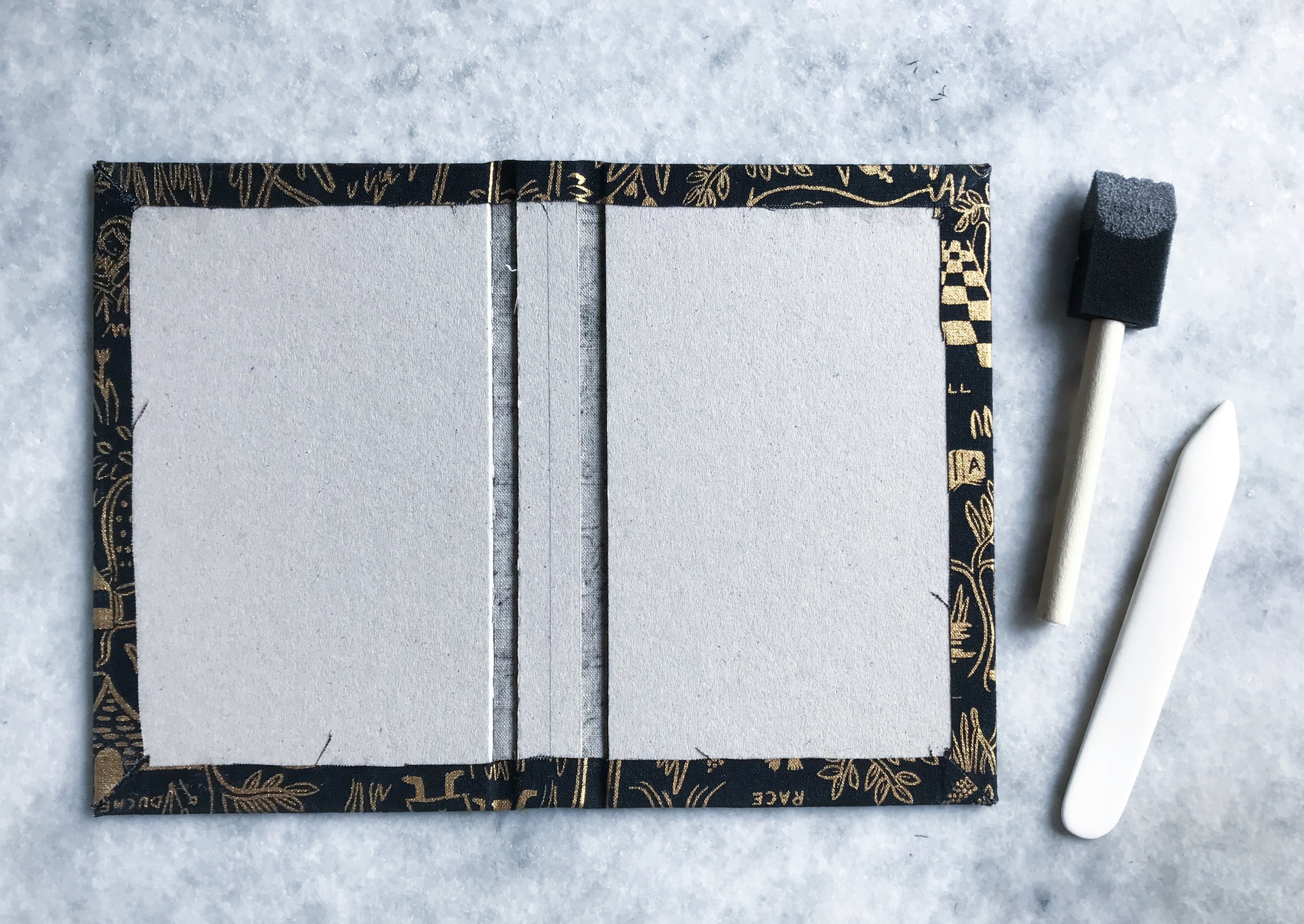 Wrapped book board