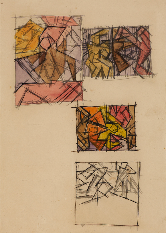 David Bomberg, 1913-14. Before WW1