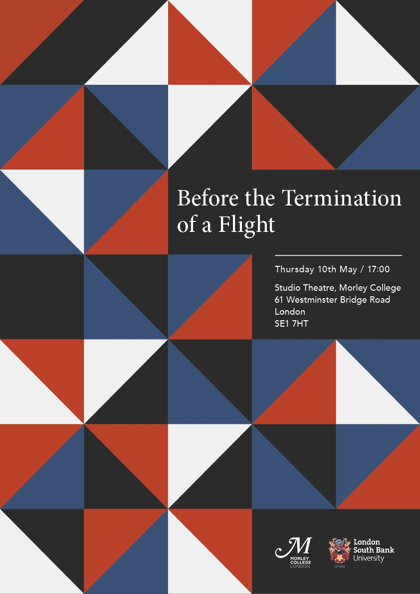 Poster for Before the termination of a flight.JPG