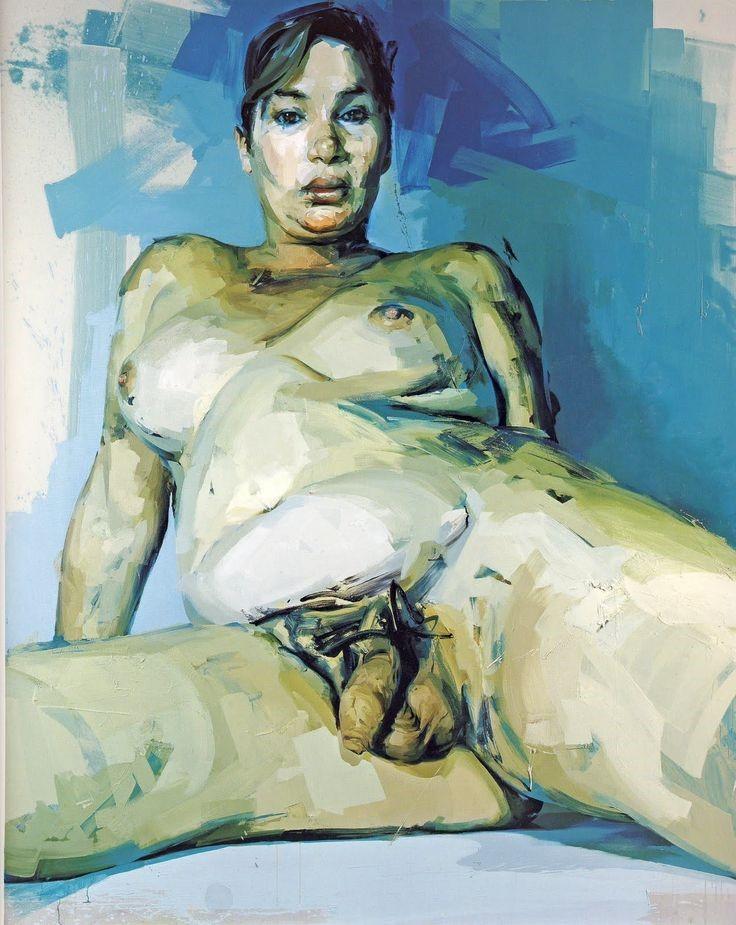 Jenny Saville,  Passage , 2004