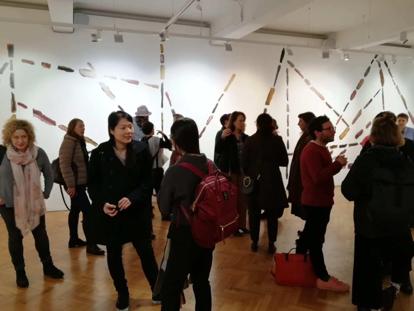 Johanna Bolton Exhibition Borough Road Gallery Private View