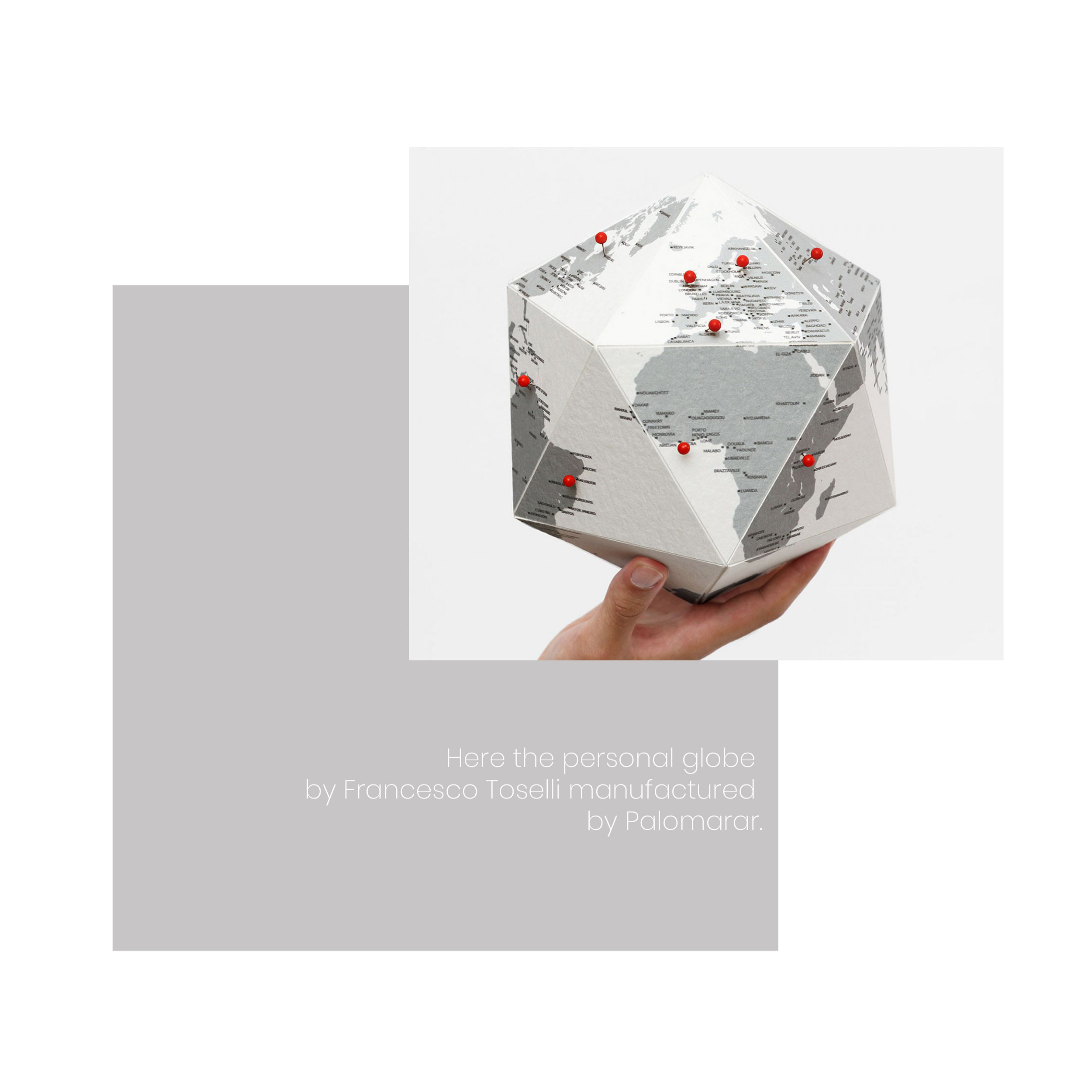 This is the perfect gift for any traveller or the travel wannabe!Here is a globe that lets you trace a personal travel experience and invites you to mark the places you have been to. Do you know someone who would love it?  Shop here.