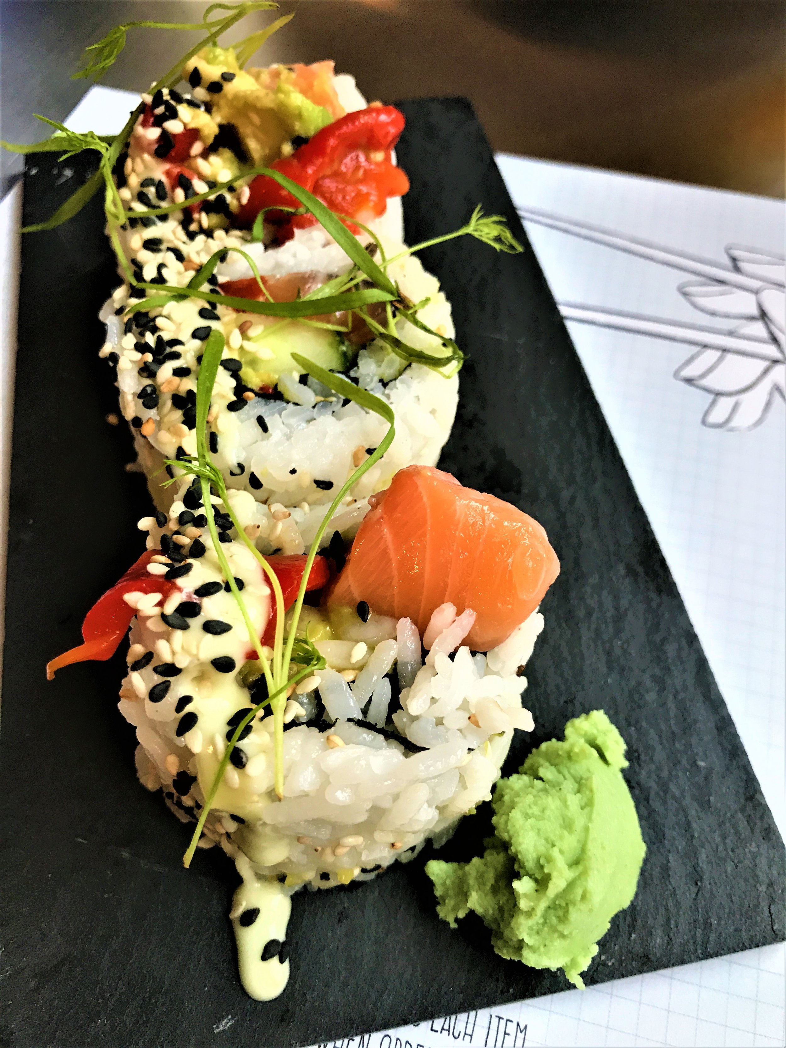 Lunch at Fish Tank Sushi - - The Rural Travel Guide