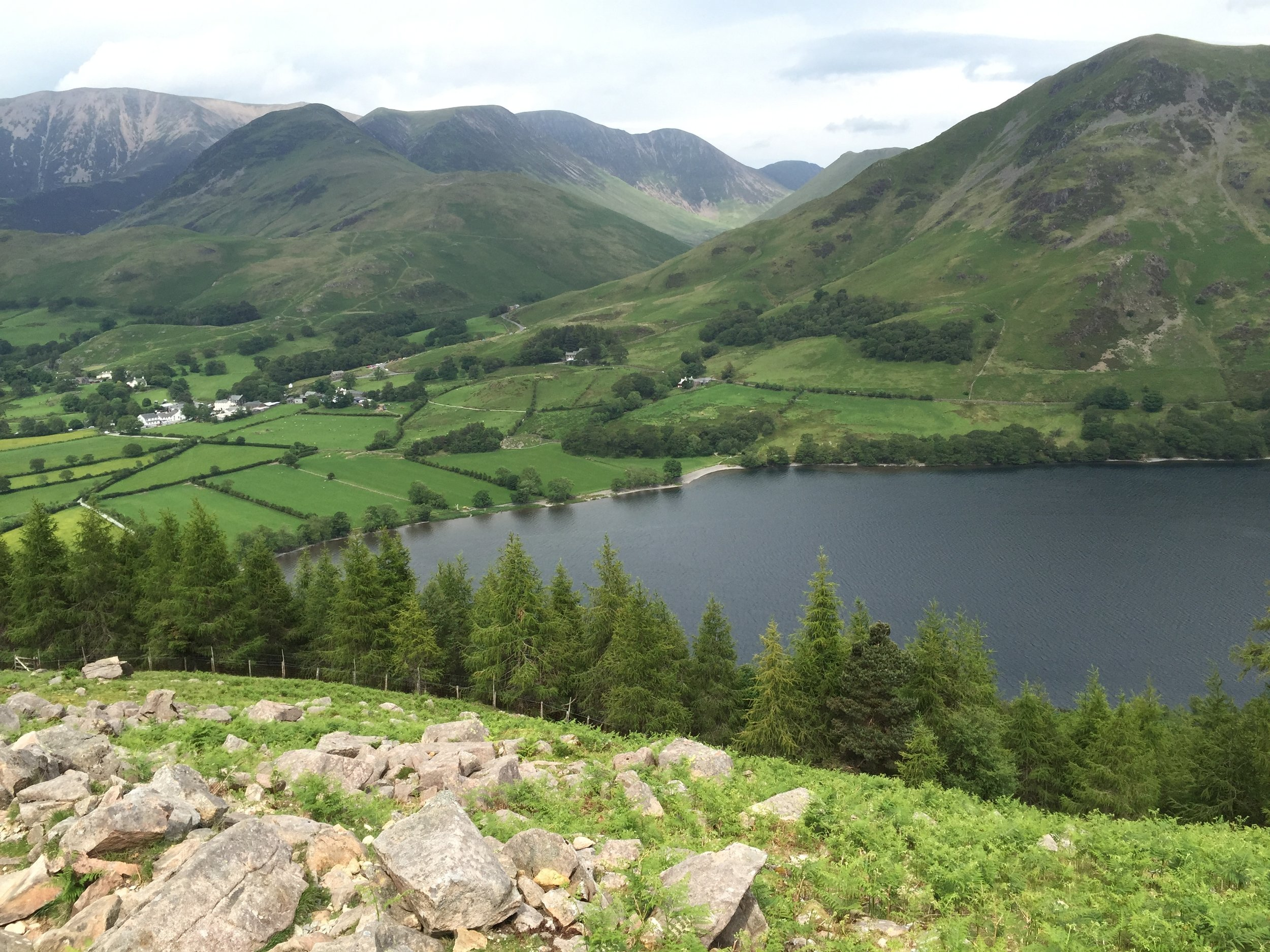 Buttermere village - - The Rural Travel Guide