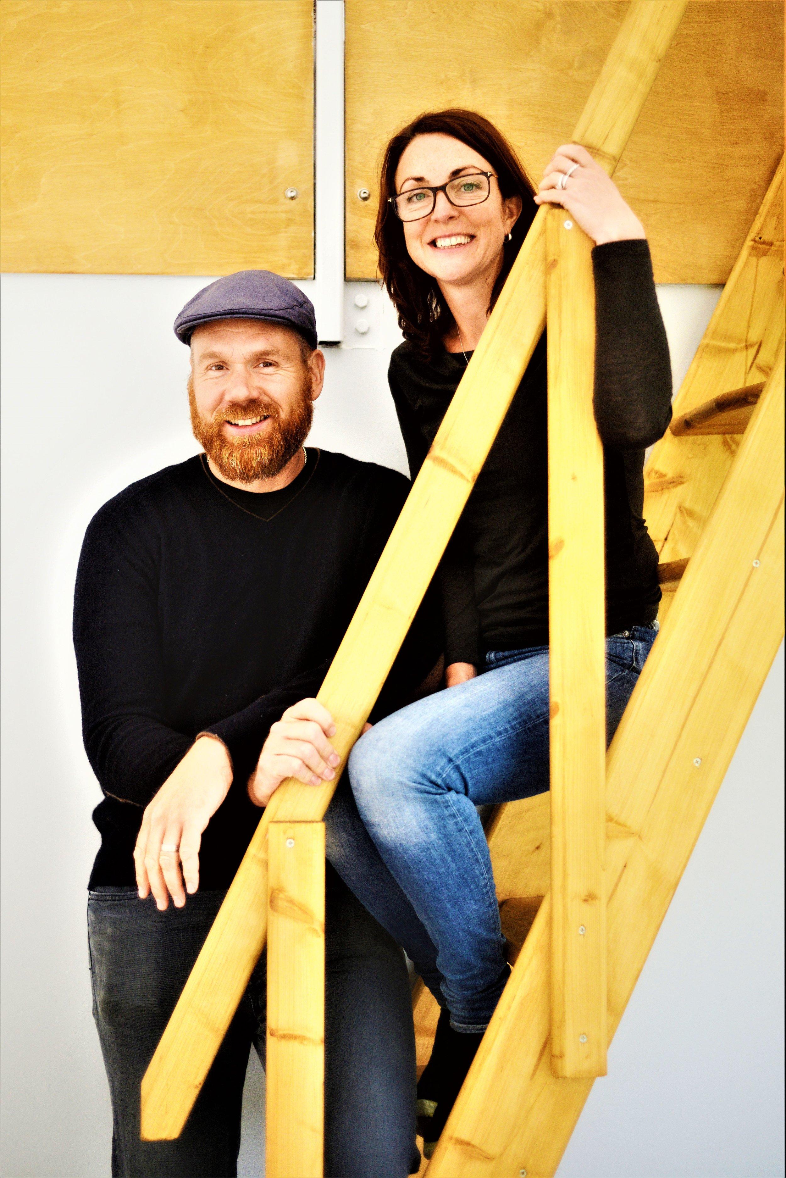 The 'secret staircase' - - Rutland Creative