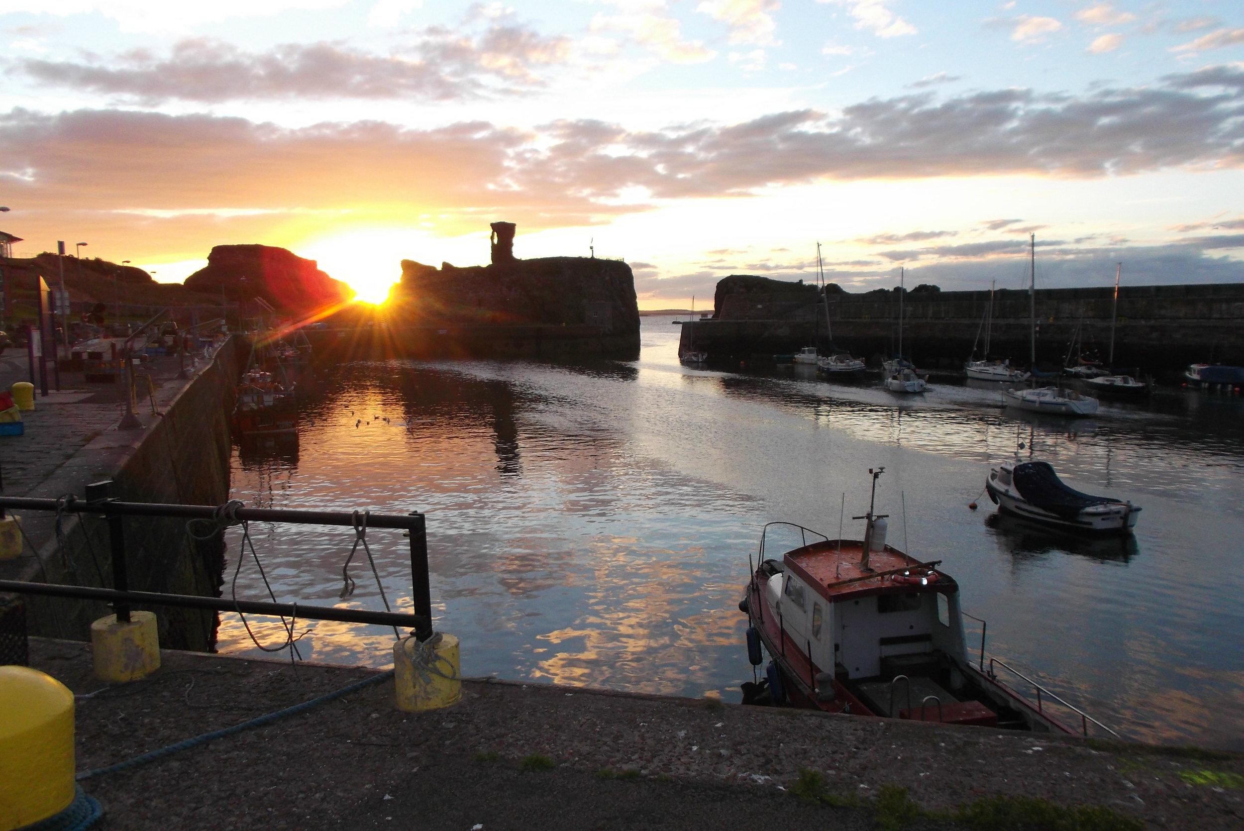 Dunbar Harbour - - John Muir Way