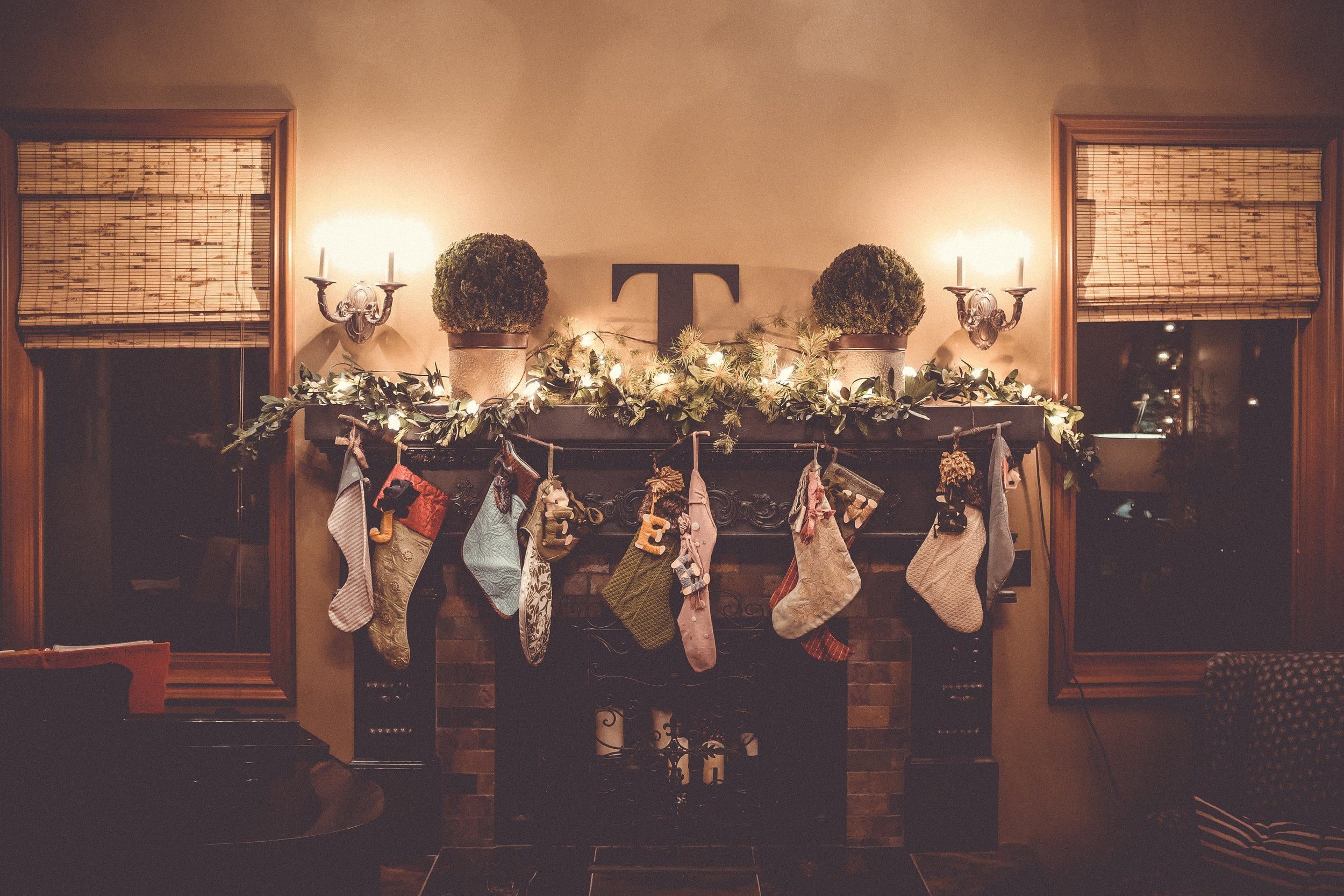 'Twas the night before Christmas... - Photo by Wesley Tingeyon Unsplash