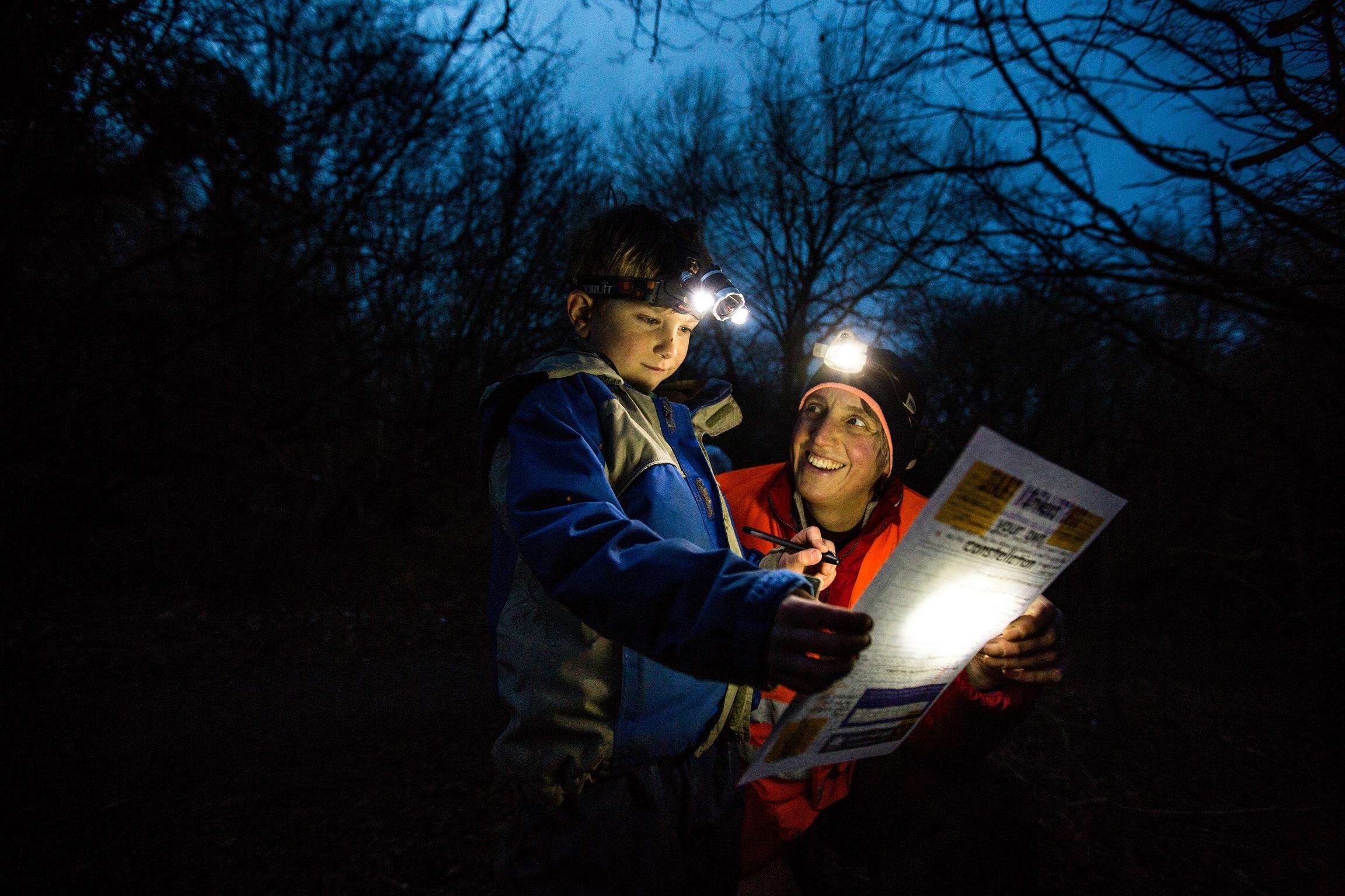 Forest Schools at Dark Skies Festival - - Stephen Garnett