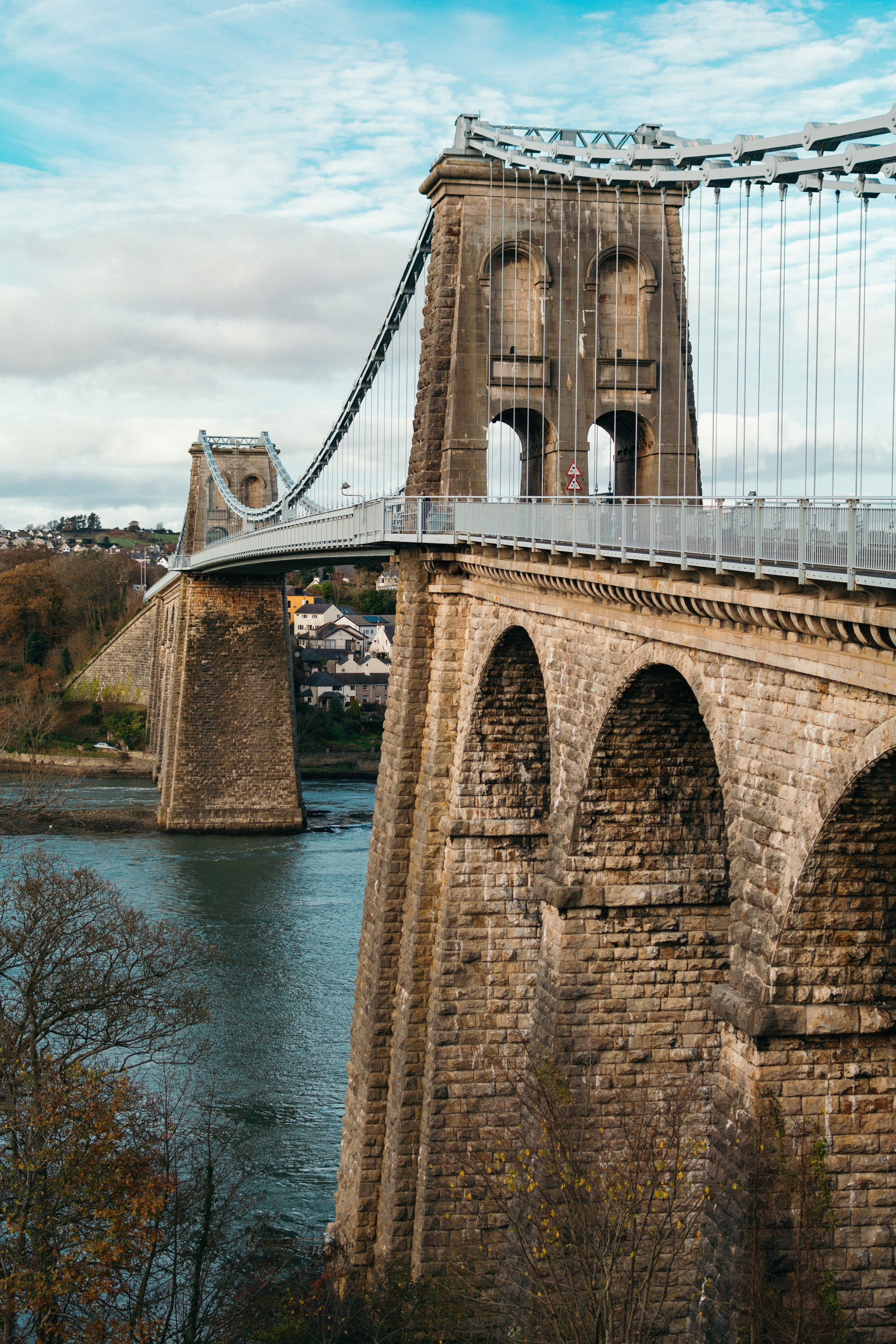 Menai Suspension Bridge - - Nick Cozier
