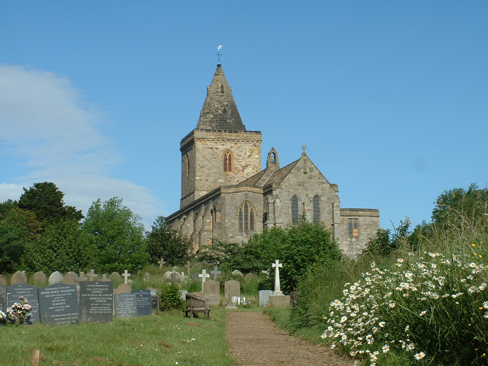 Lythe Church - - North York Moors National Park