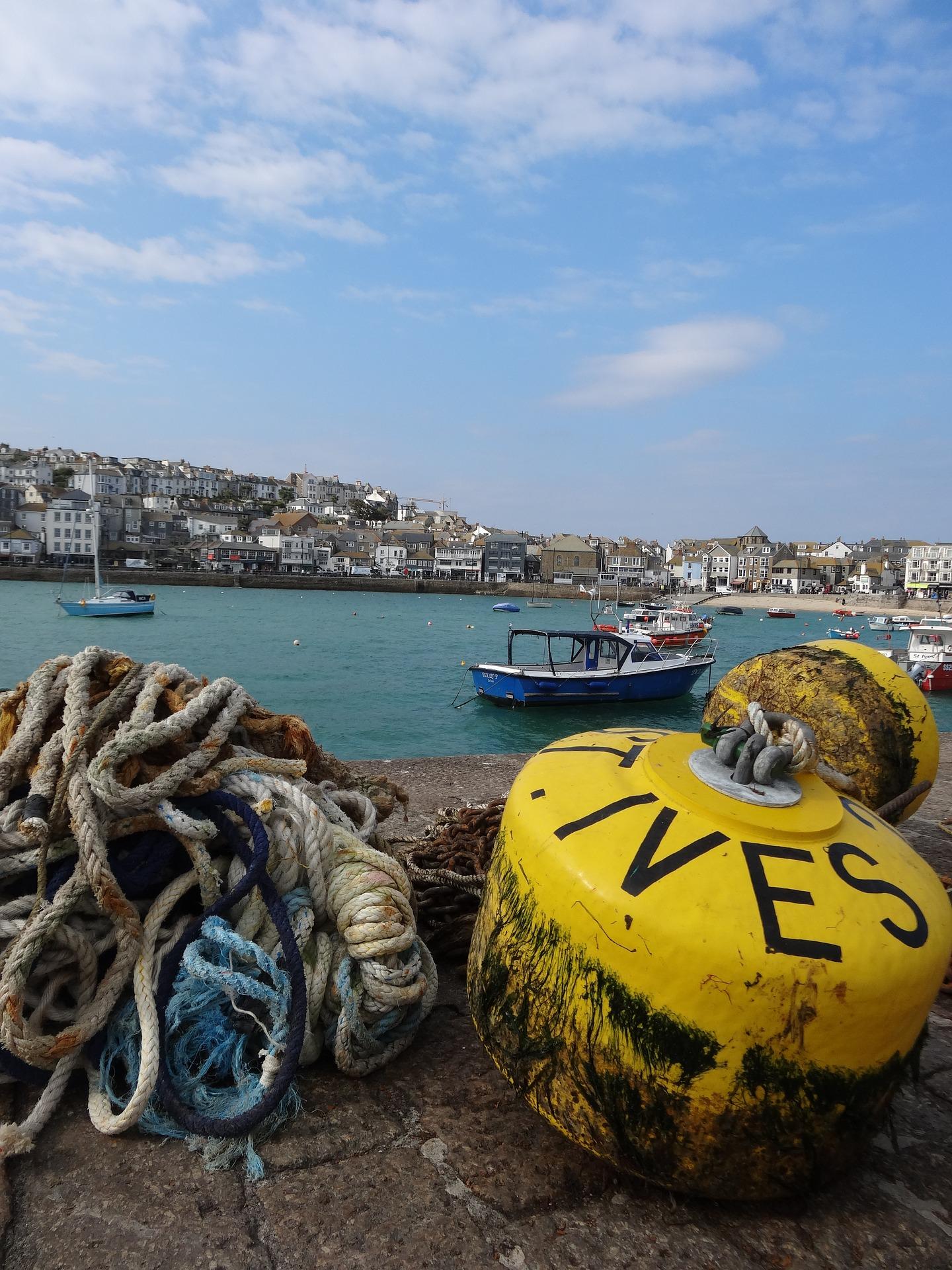 St Ives harbour - - Rural Travel Guide