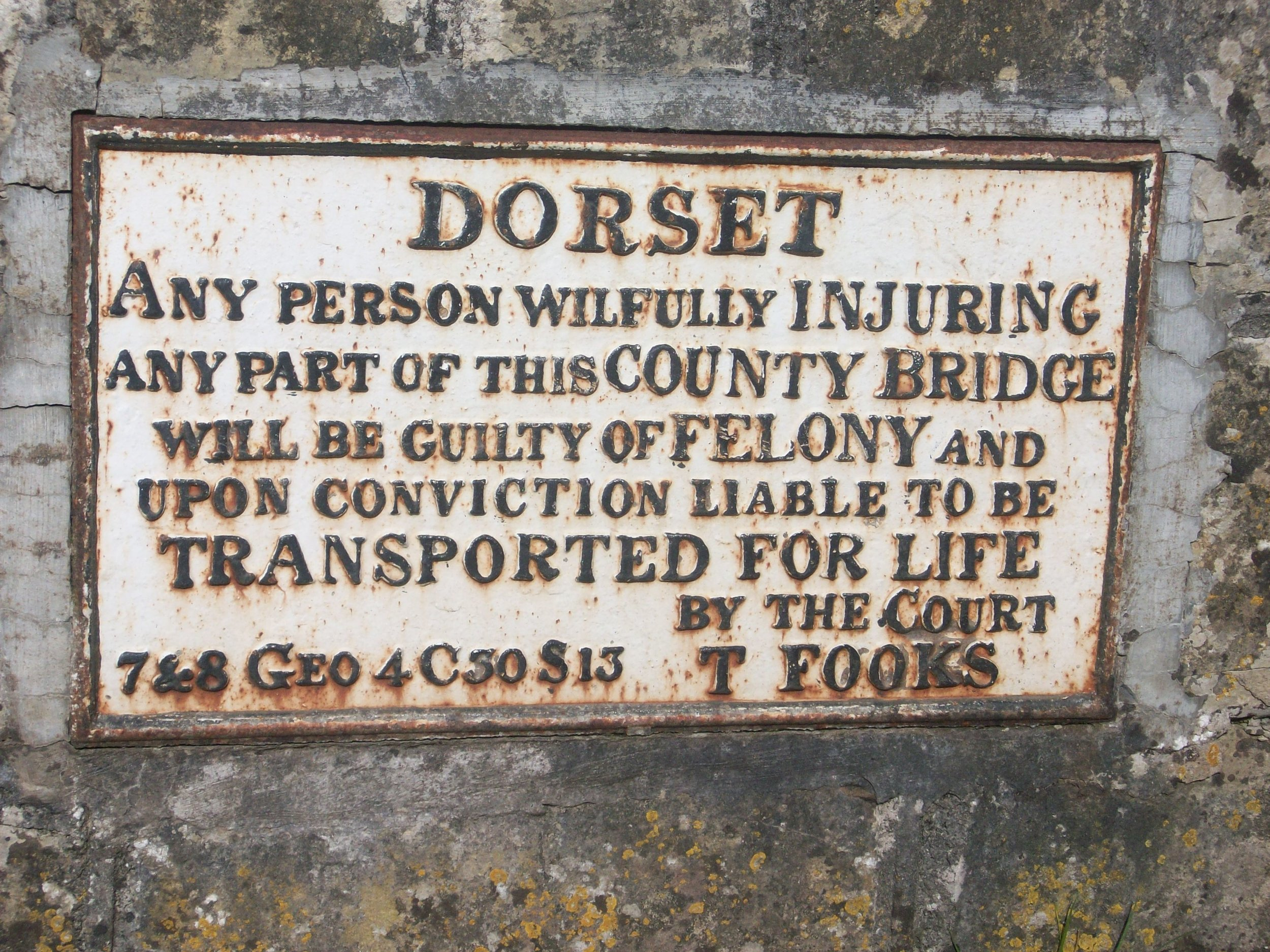 Doset ghost sign
