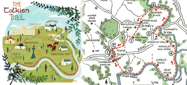 Take the Tolkein Trail - - Hobbit Hill