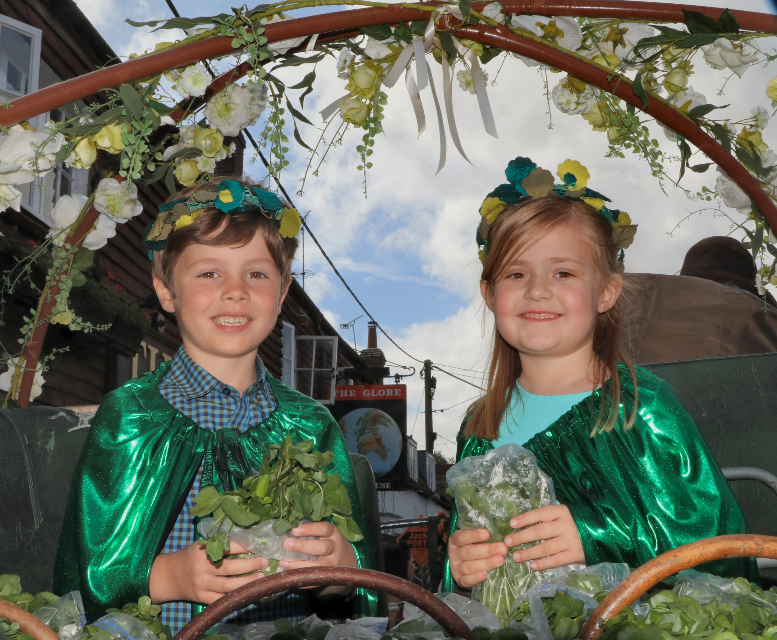 The King and Queen - - Alresford Watercress Festival