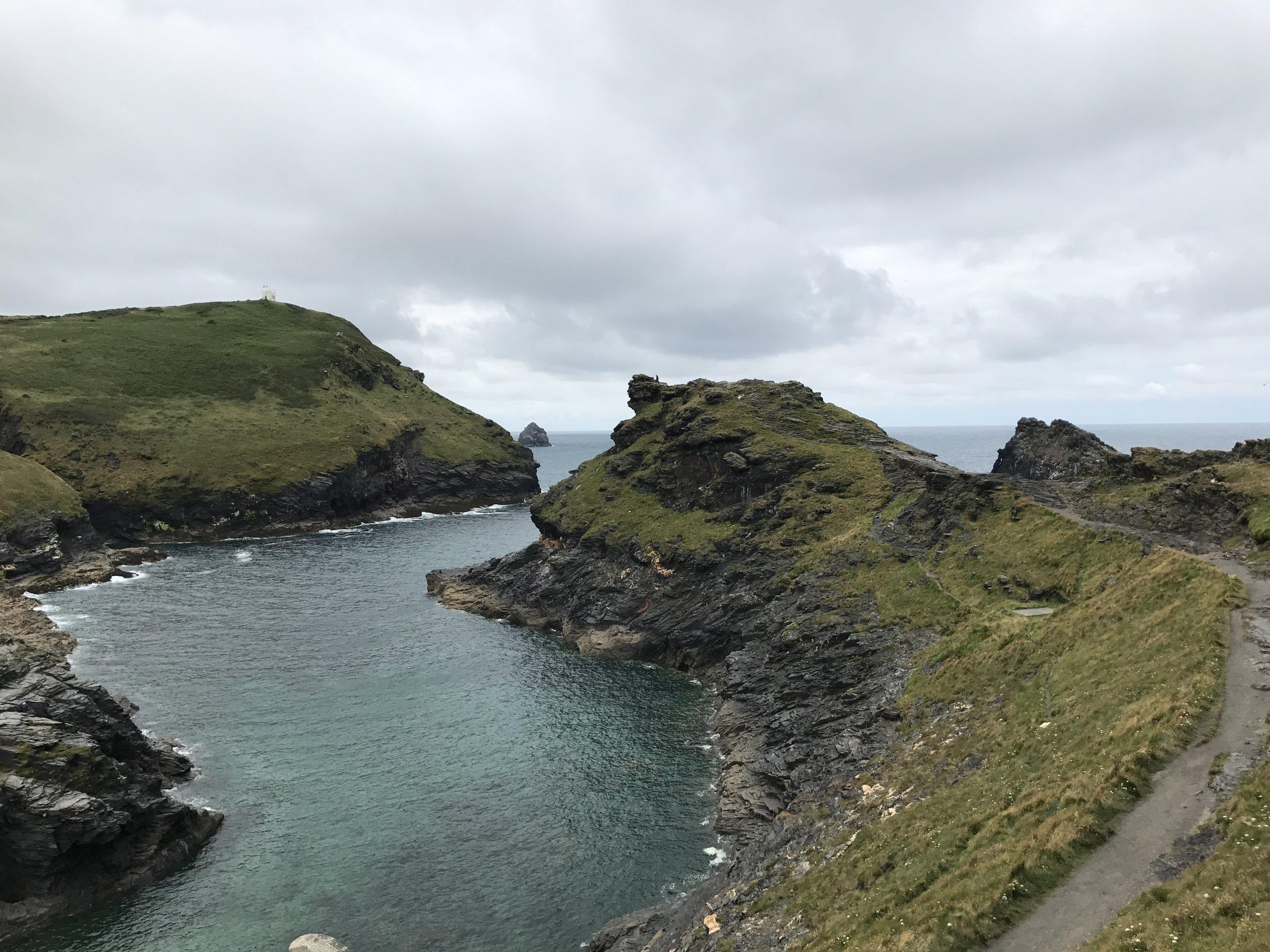 The Cornish coastal path - - The Rural Travel Guide