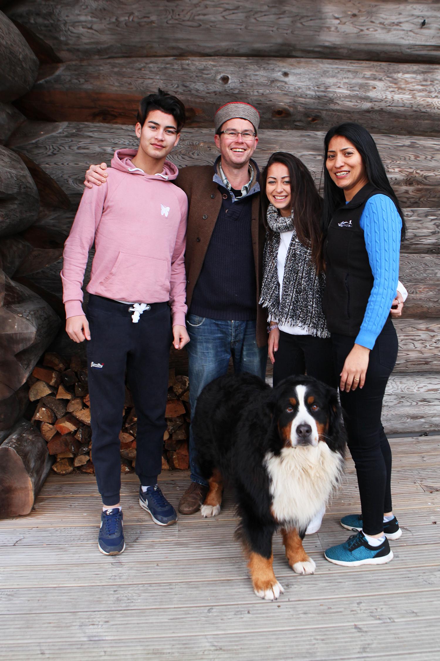 The Spencer-Nairn family - - Eagle Brae