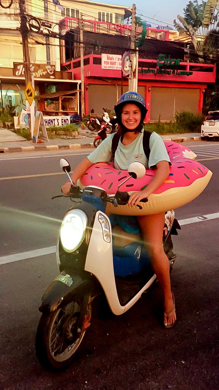 Julianne in Krabi, Thailand.