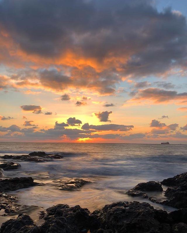 #sunrise #colours #malta #freshair #lovelyweather #cold #iphone8