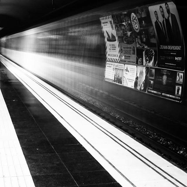 #metro #light #invisibletrain #travel #iphonelongexposure
