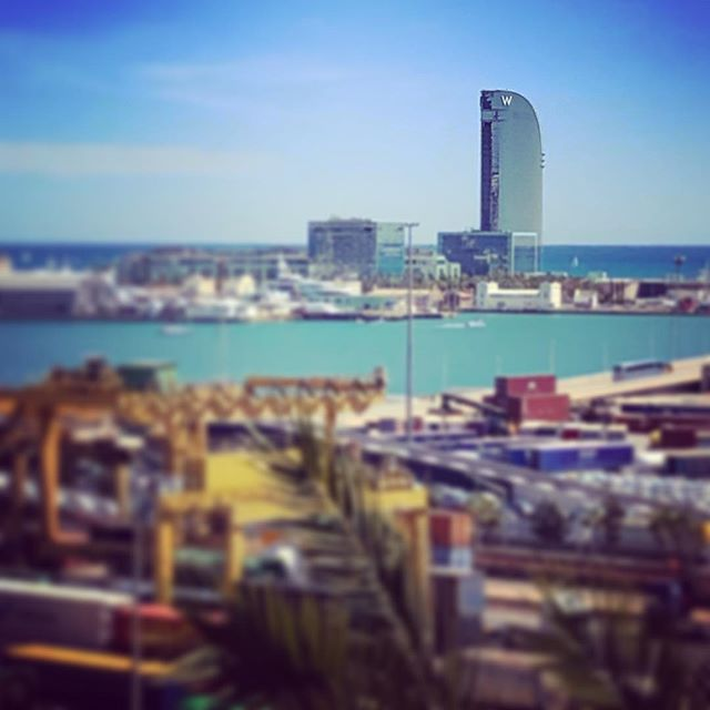 #whotel #sail #barcelona #outandabout #lovehotels #view #port #beautiful #family #vacation