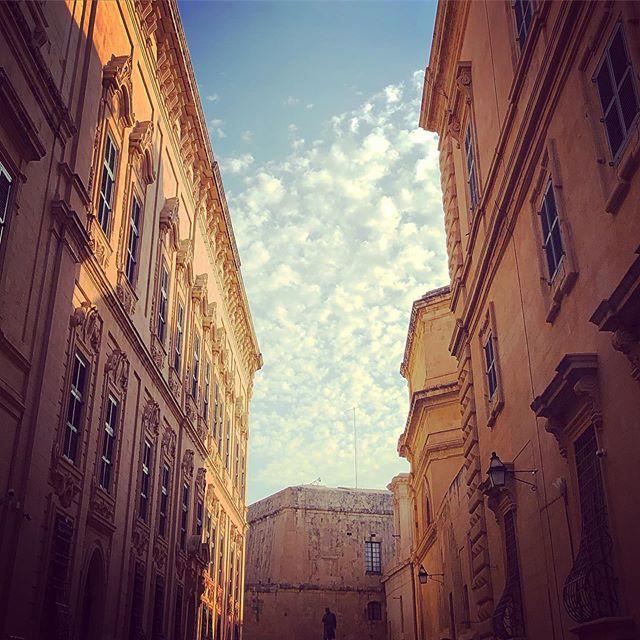 #valletta #streets #light #summer #sky #iphone8plus