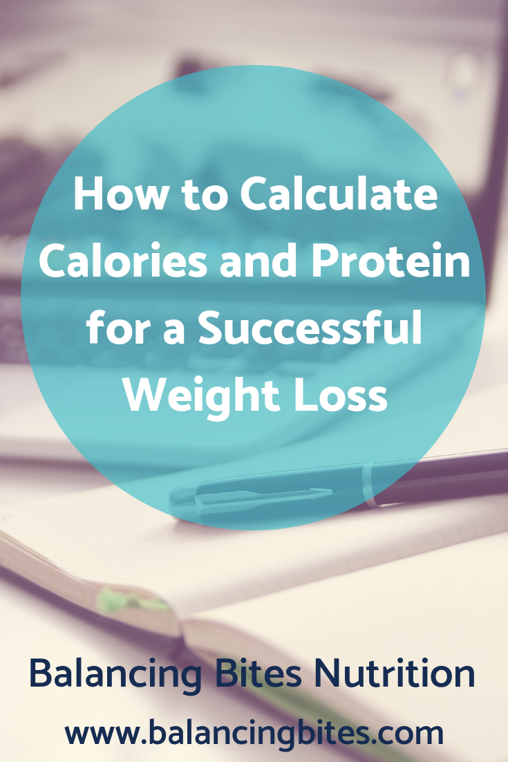 How to Calculate Calories and Protein for a Successful Weight Loss - Balancing Bites Nutrition.png