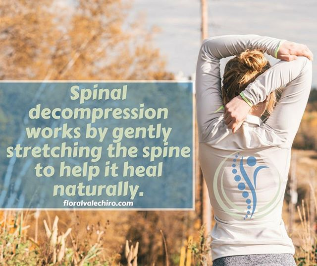 Spinal decompression works by gently stretching the spine to help it heal naturally. . . . #DrBrianHymowitz #floralvalechiropractic #health #morrisville #pennsylvania #chiropractic #wellness #healthandwellness #healthylife #subluxation #chirokids #healthychoices #healthykids #chirokidsrock #chiropractors #therapy #exercise #painrelief #spinaldecompression