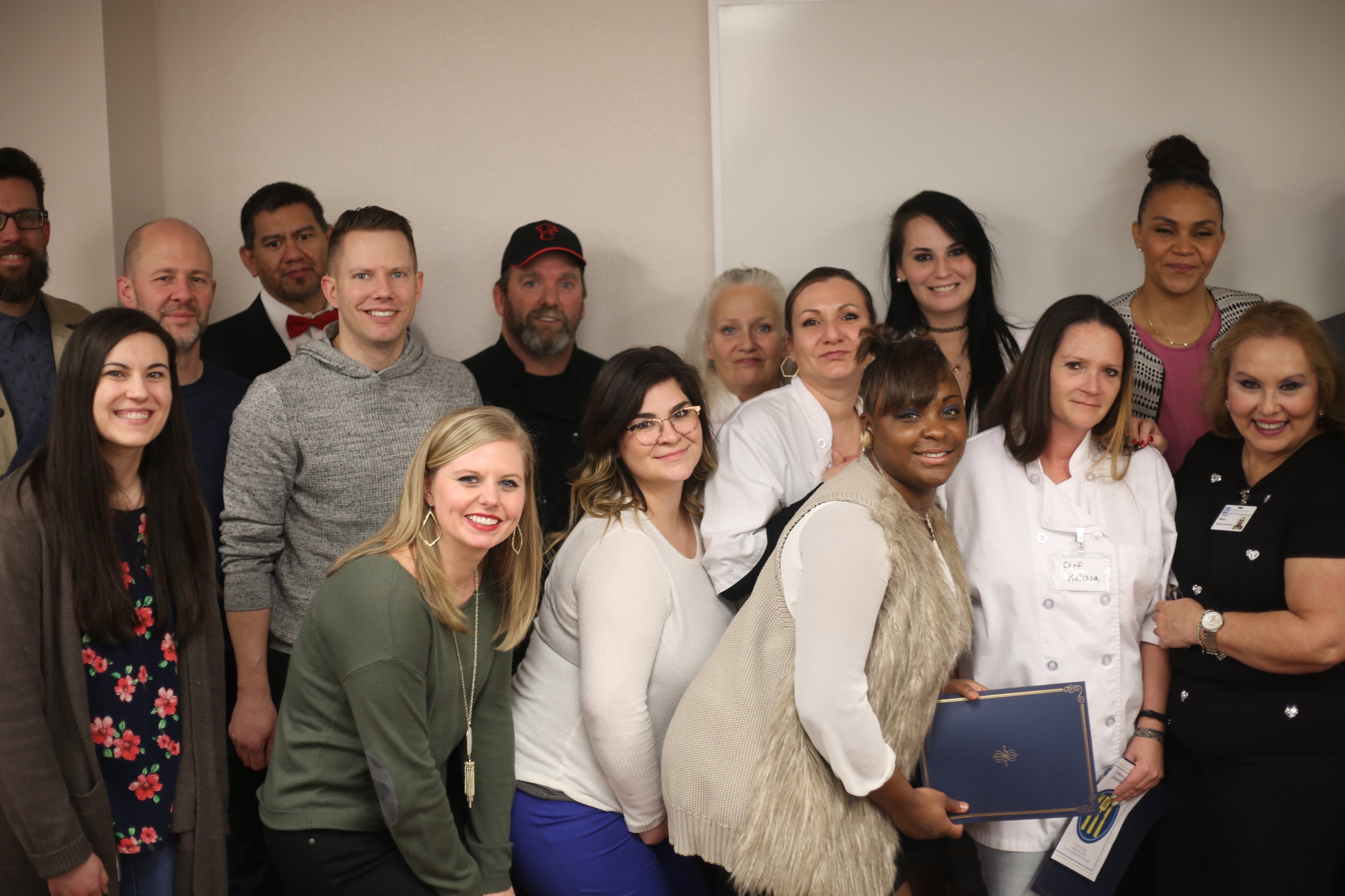 TEEM Staff, LifeChurch Partners and Culinary Graduates