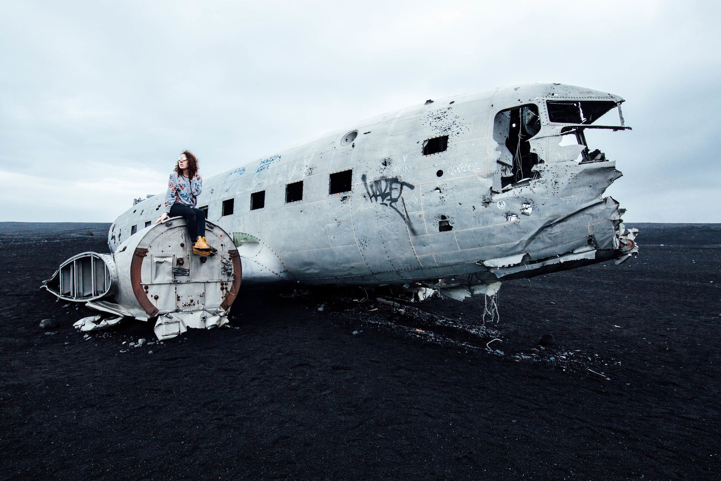 D3 Plane Crash