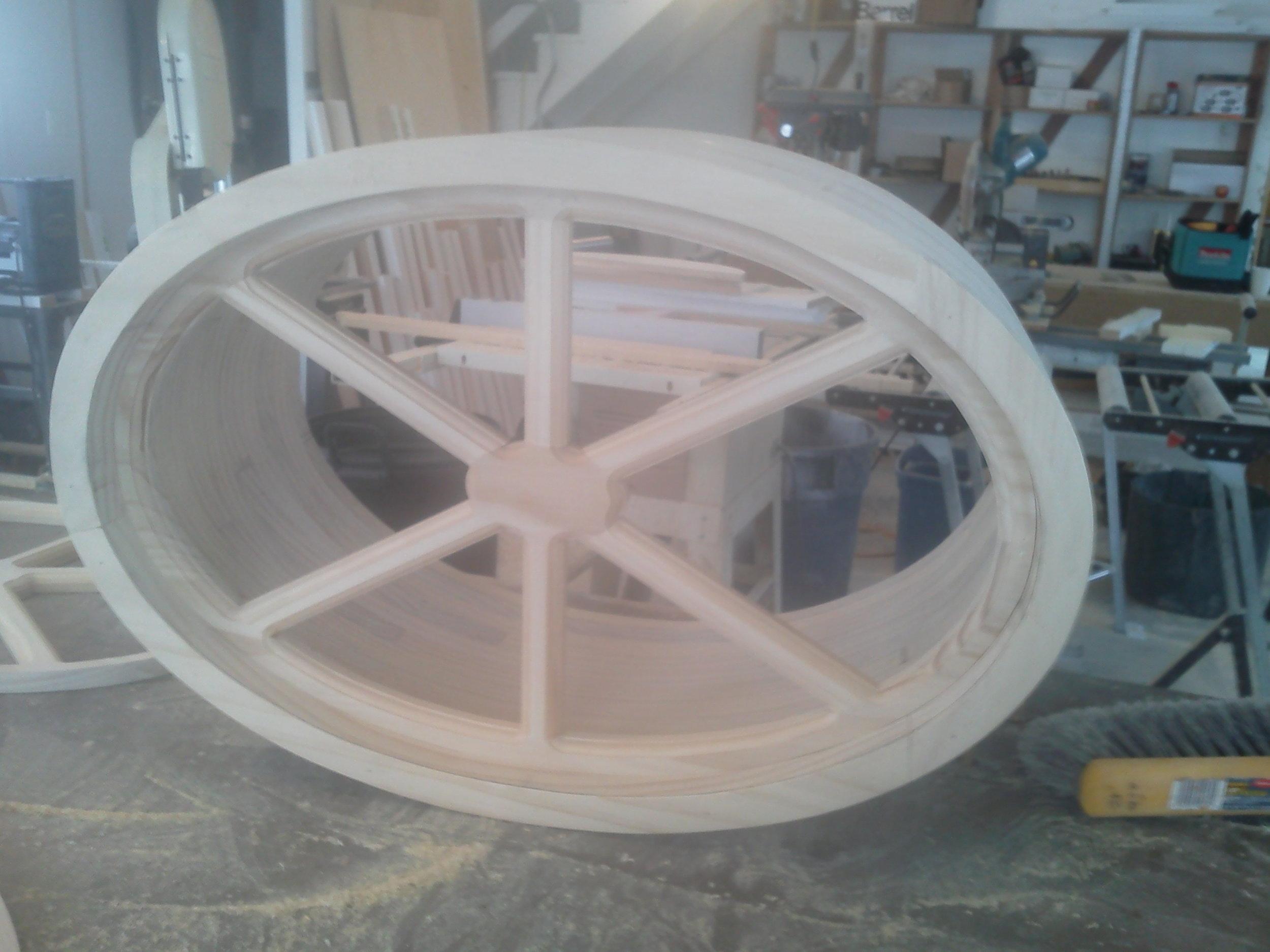 Elliptical Window Muntins