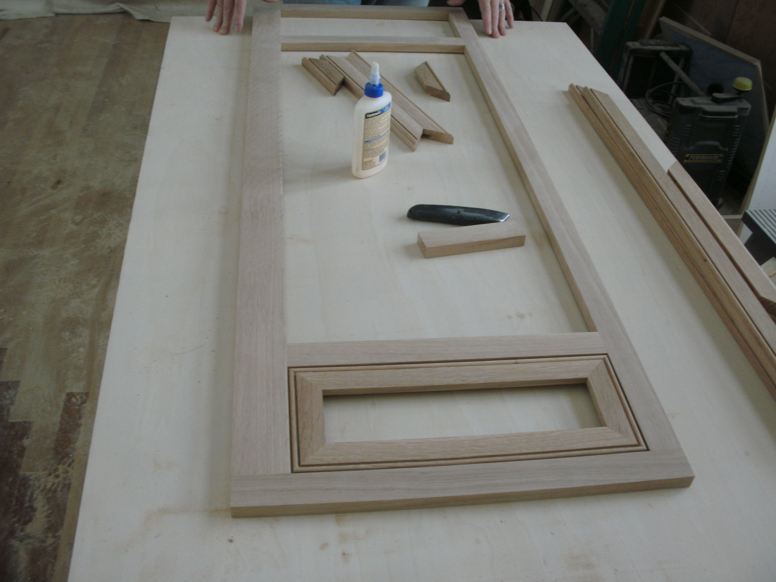 Painting Flanking Styles and Rails