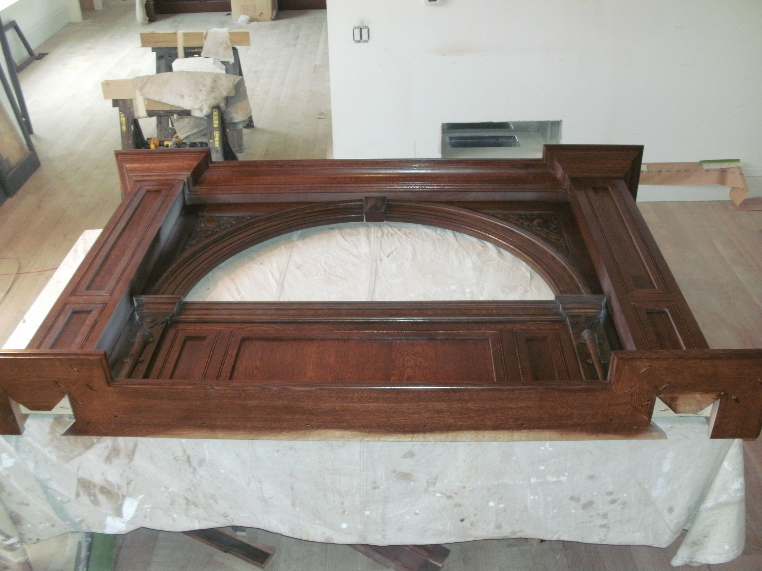 Surround Head Piece with Stain