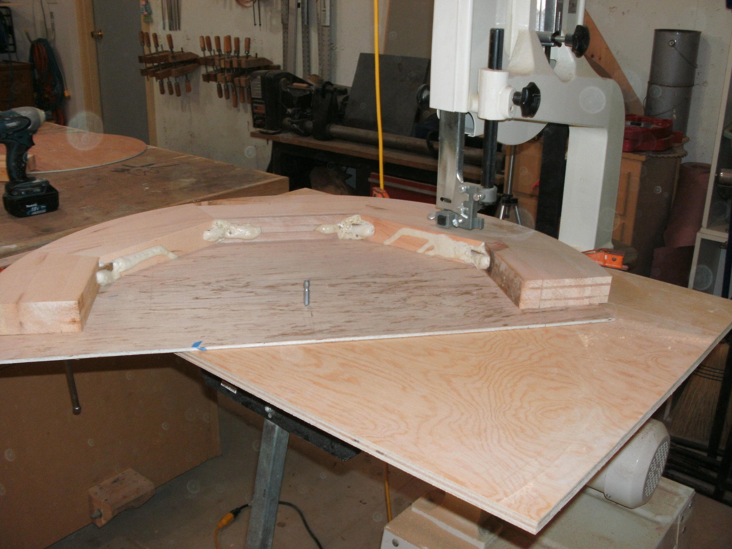 Bandsaw Cutting