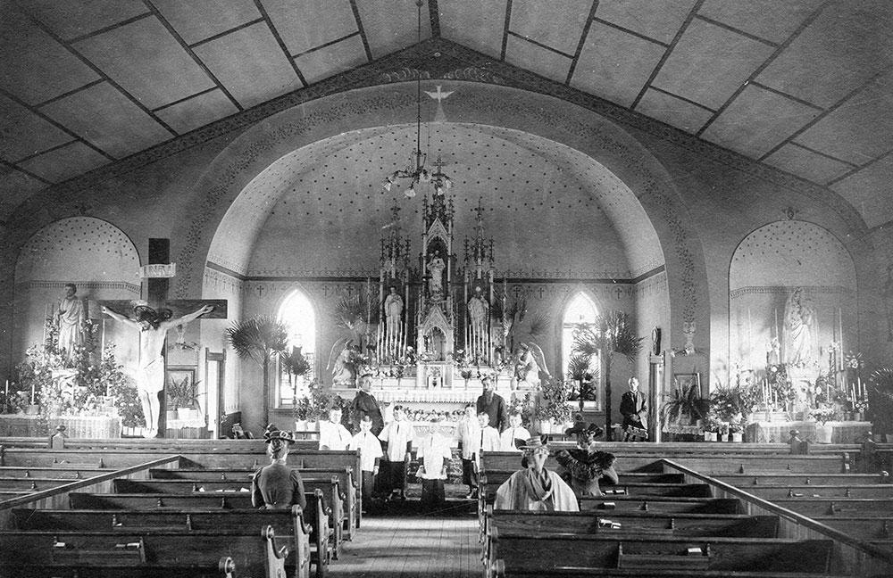 St. Mary's Catholic Church in Aspen, CO Interior