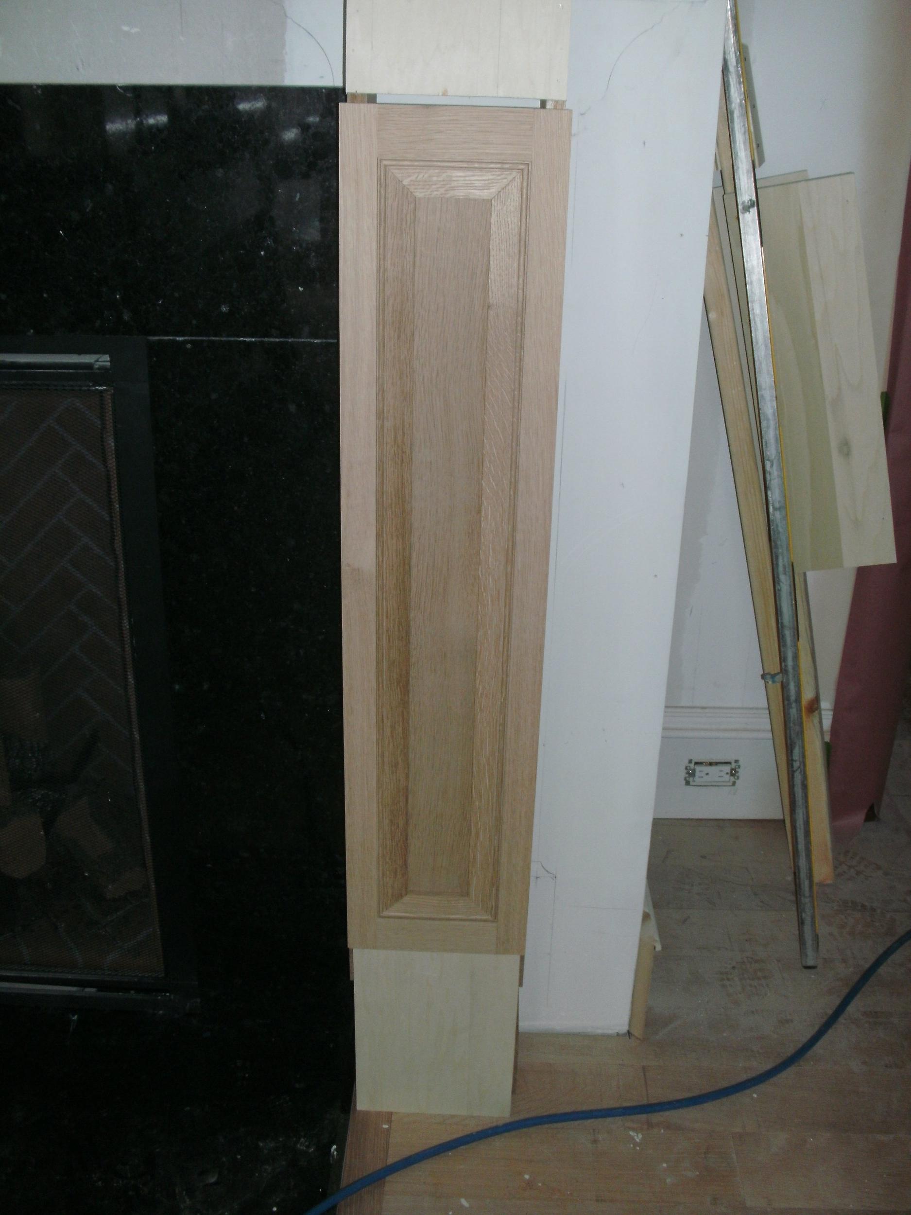 Fireplace Surround Side Legs