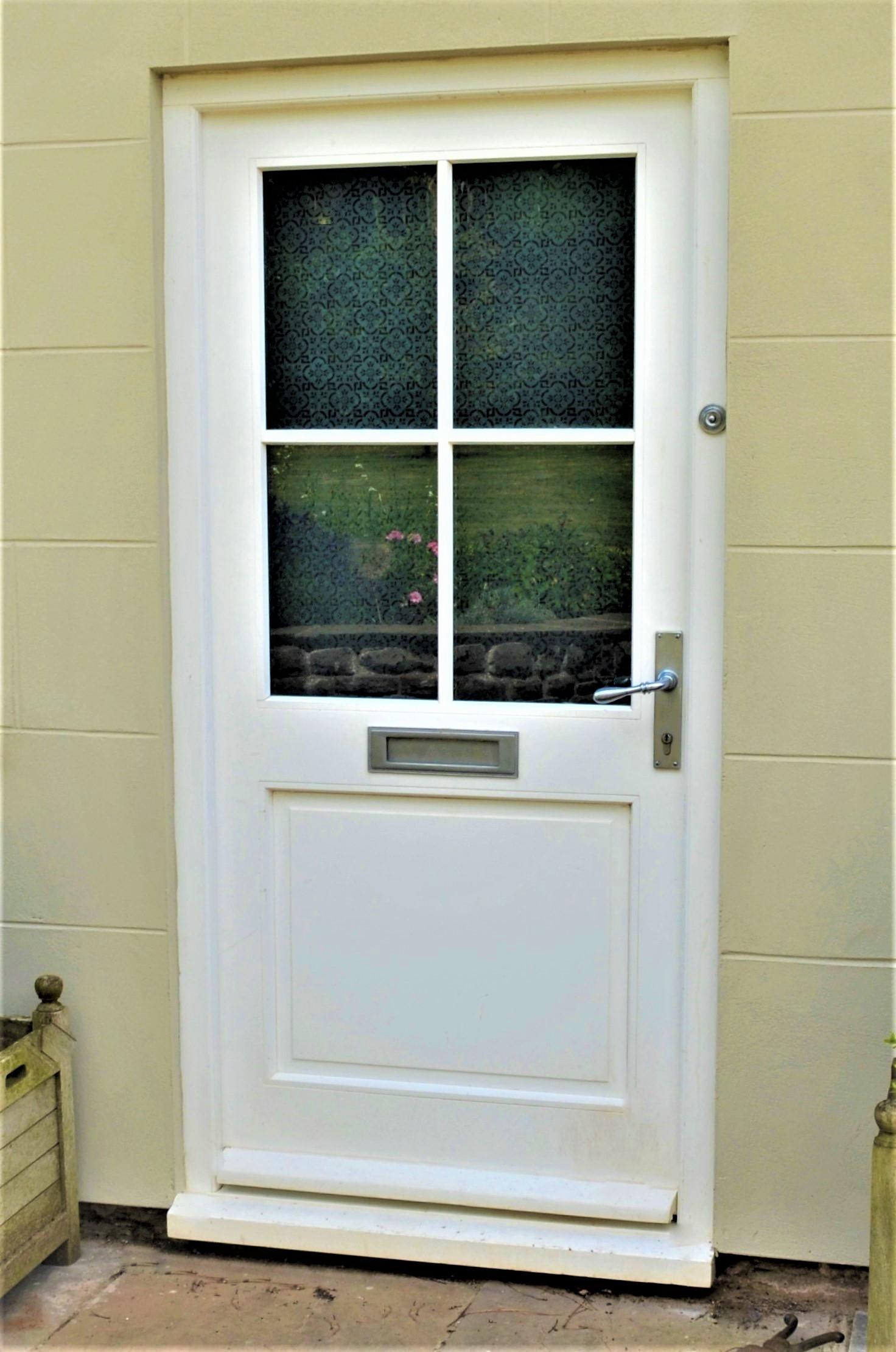 Bespoke back door
