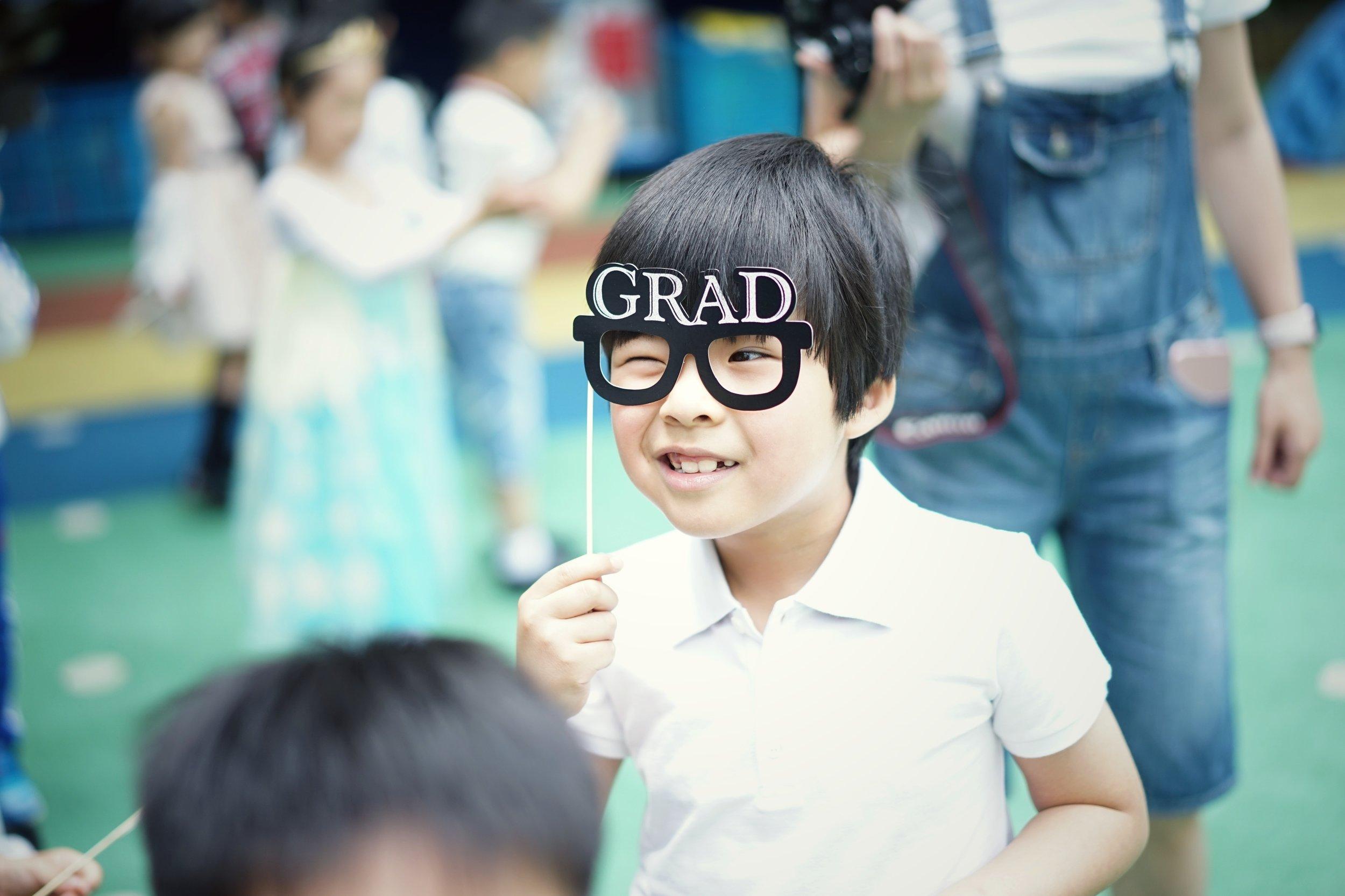 child graduates