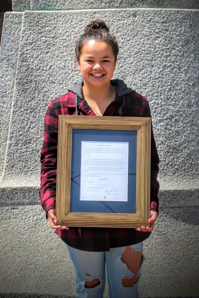 Haley Naparan - Lincoln High School10th Grade