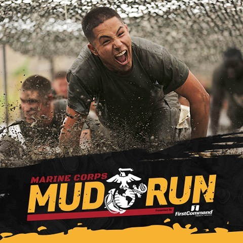 OORAH!  Experience a military inspired course with two new obstacles. Race where U. S. Marines Train. Marine Corps Mud Run June 9 & 10. Online registration ends Tomorrow. Sign up now --  marinecorpsmudrun.com/newobstacles