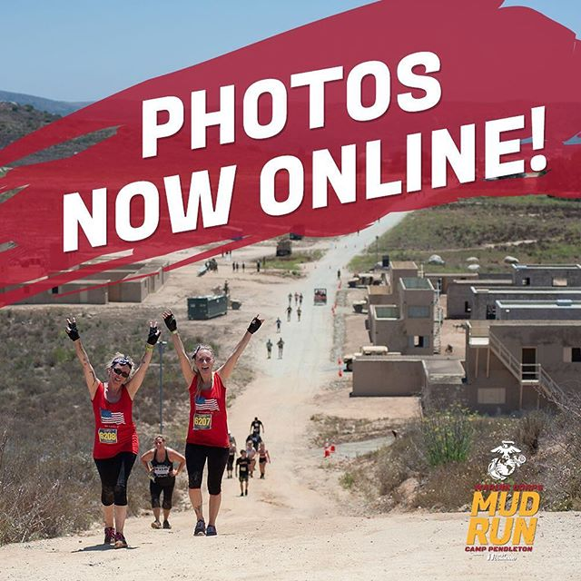 Happy Friday everyone! We are happy to announce that all participant photos are up on our website. Check it out and start sharing your favorite ones, and be sure to tag us #marinecorpsmudrun • Link in bio ➡️ @marinecorpsmudrun . #marinecorpsmudrun2018 #mudrun #mudrunphotos @endurancesportsphoto #racephoto #racephotography #camppendleton #camppendletonmudrun #oceanside #tgif