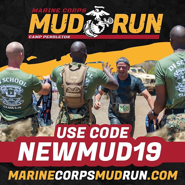 New Year. New Challenge...We Devil Dog Dare you! Register before Jan 6th at midnight and beat the $5 price increase. Use code NEWMUD19 and save another $5. That's a $10 savings! Click the link in bio to register. #mudrun #newyear #fitness #5ktraining #10k #sandiego #oceanside #usmc #mccs #semperfit