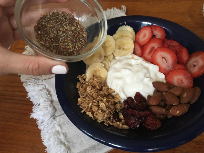 Healthy Weekend Parfait Flax Seed - The Kissters