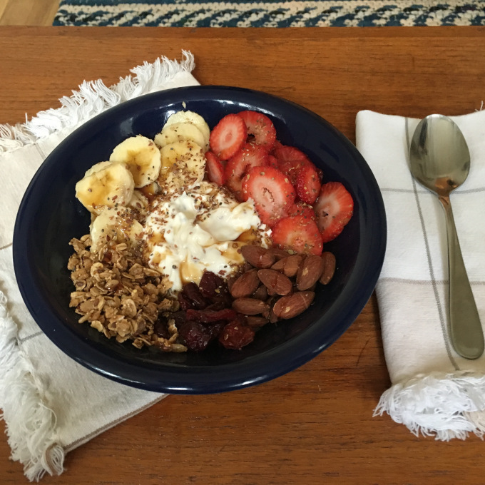 Healthy Yogurt Parfait Breakfast - The Kissters