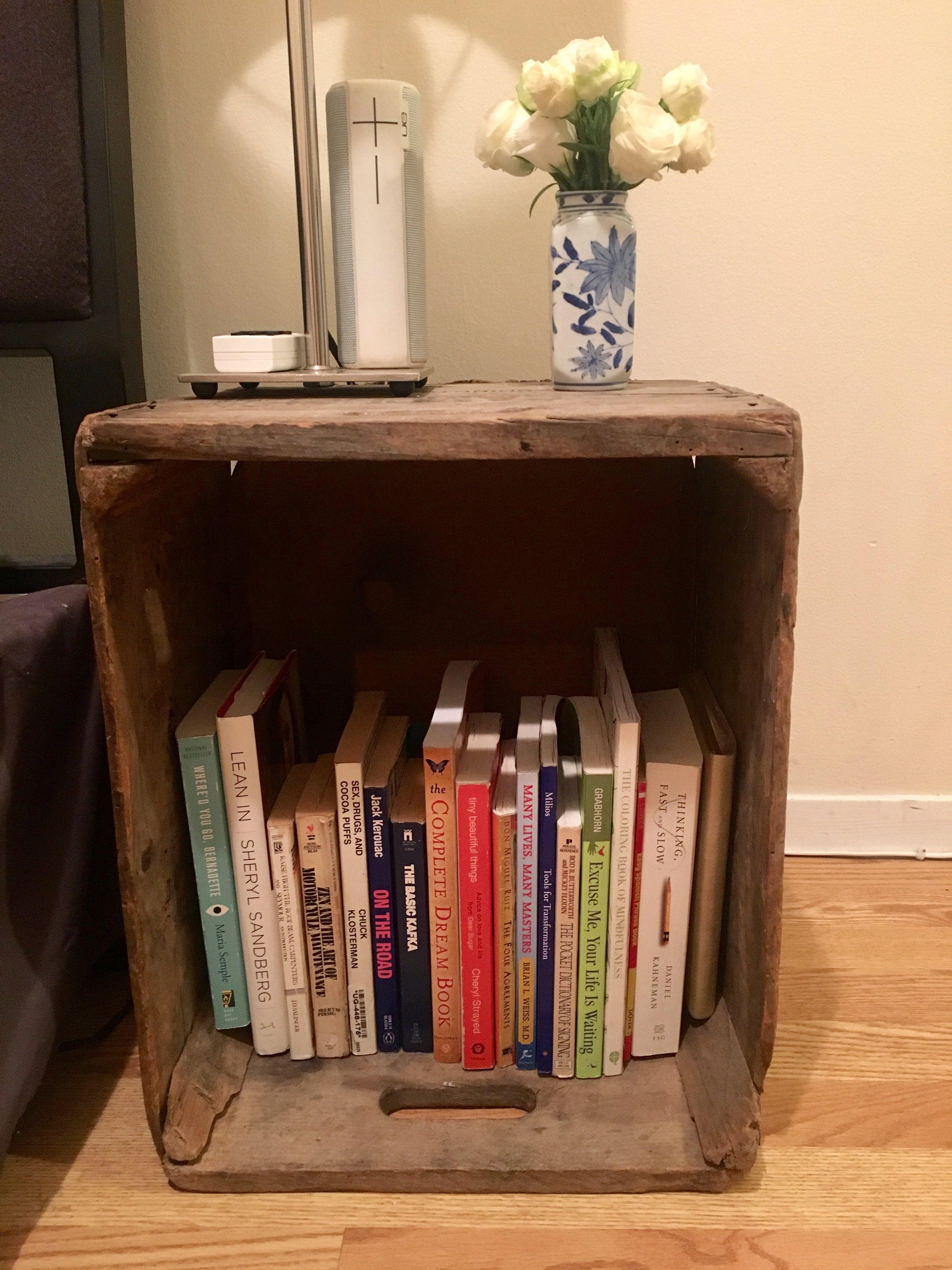 Kon Marie Method Bookshelf After - The Kissters