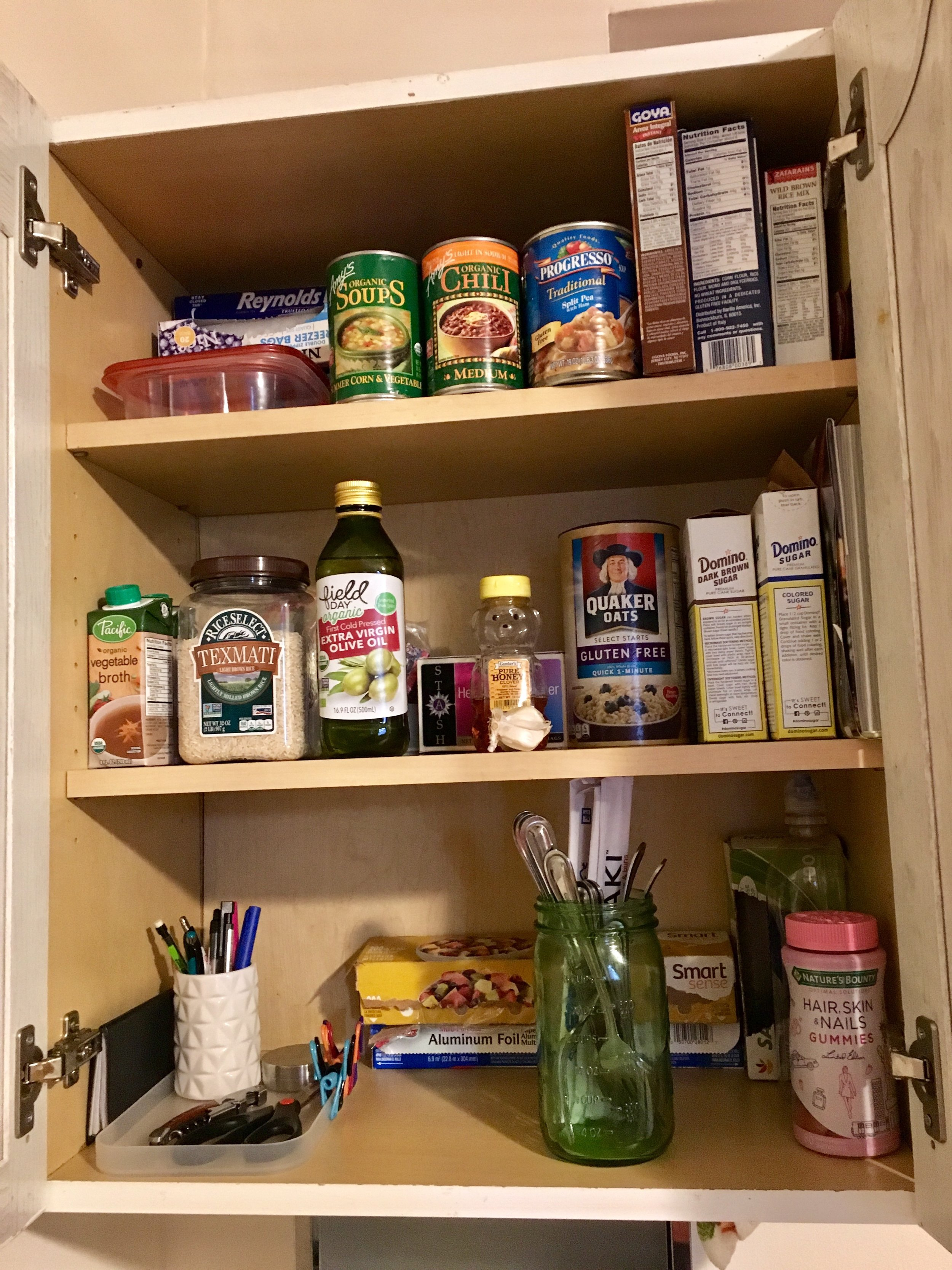 Kon Marie Kitchen Pantry After - The Kissters